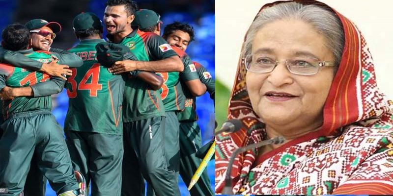 টি-২০ সিরিজ জেতায় বাংলাদেশ ক্রিকেট দলকে প্রধানমন্ত্রীর অভিনন্দন ।।
