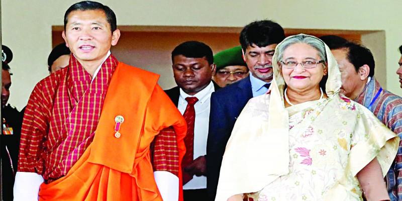 চার দিনের সরকারি সফর শেষে ঢাকা ছাড়লেন ভুটানের প্রধানমন্ত্রী ডা. লোটে শেরিং॥