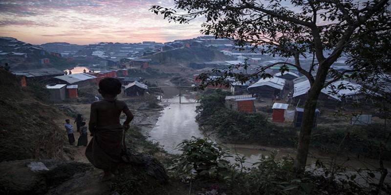 মৌসুমি বর্ষায় রোহিঙ্গা এলাকার ১৫ হাজার লোক বাস্তুচ্যুত॥