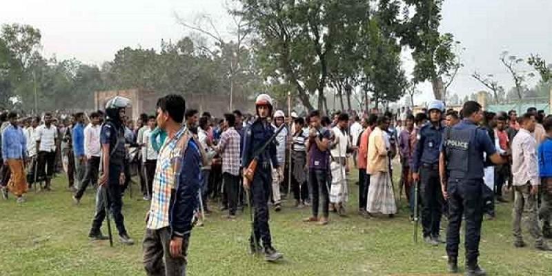 লালমনিরহাটে আ'লীগের সম্মেলনে দু'গ্রুপে সংঘর্ষ ॥ গুলিবিদ্ধসহ আহত ২০