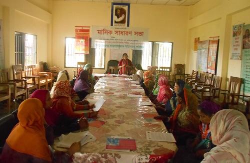 জামালগঞ্জে বিকশিত নারী নেটওর্য়াক কমিটি গঠন